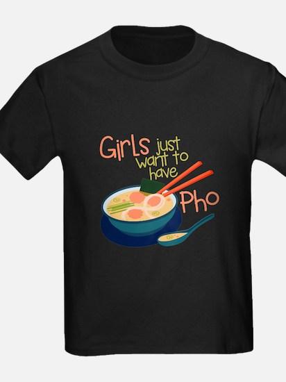 Girls Just T-Shirt