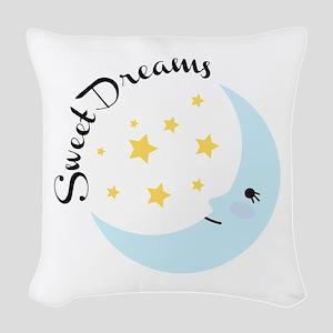 Sweet Dreams Woven Throw Pillow