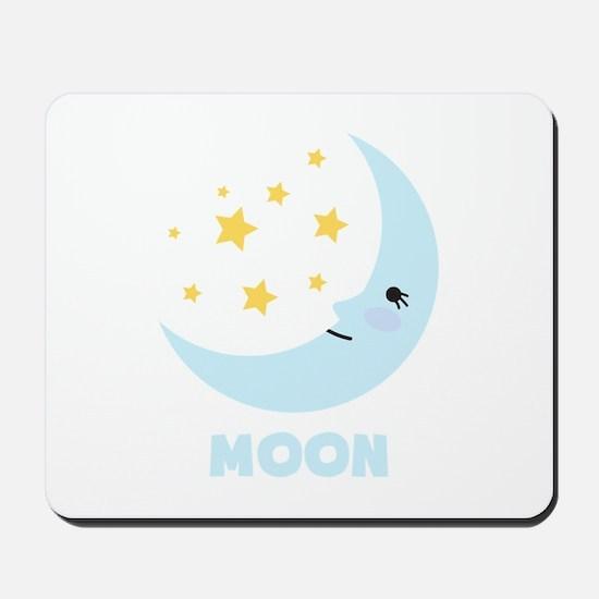 Night Moon Mousepad