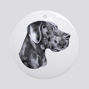 Great Dane HS Blue UC Ornament (Round)