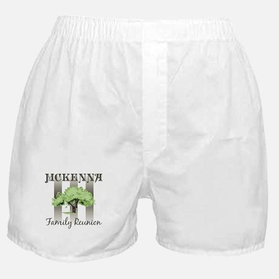 MCKENNA family reunion (tree) Boxer Shorts