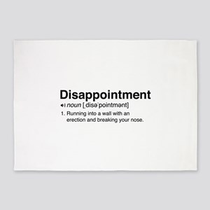Disappointment Definition 5'x7'Area Rug