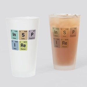 Inspire Chemistry Drinking Glass