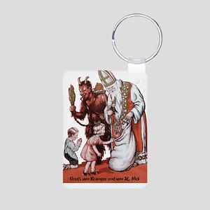 St. Nick & The Krampus Keychains