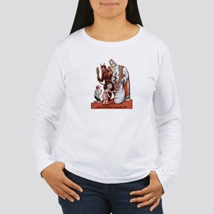 St. Nick & The Krampus Long Sleeve T-Shirt