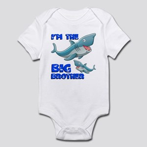 Big Brother Shark Infant Bodysuit