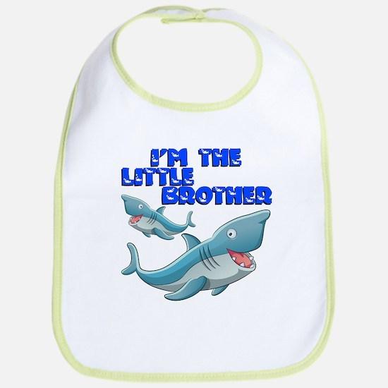 Little Brother Shark Bib