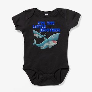 Little Brother Shark Baby Bodysuit