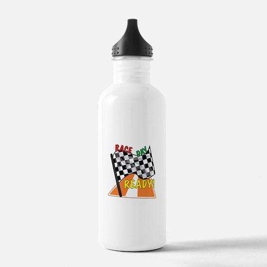 Race Day Water Bottle