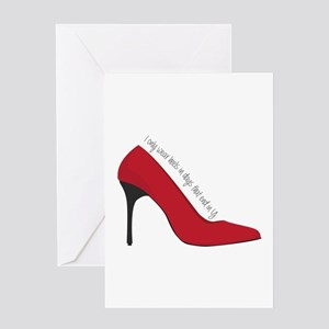 High heel greeting cards cafepress i wear heels greeting cards m4hsunfo