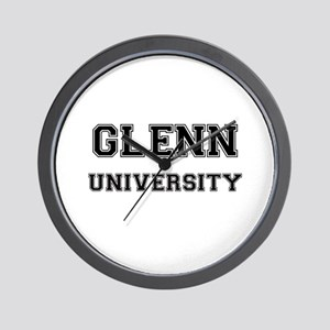 GLENN UNIVERSITY Wall Clock