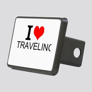 I Love Traveling Hitch Cover