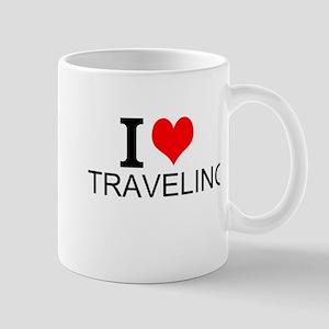 I Love Traveling Mugs
