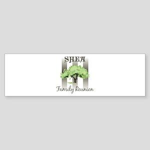 SHEA family reunion (tree) Bumper Sticker
