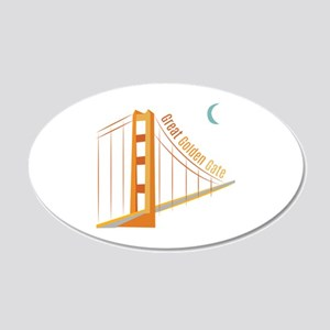 Great Golden Gate Wall Decal