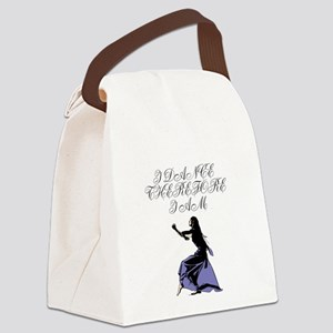 I Dance Therfore I Am Canvas Lunch Bag