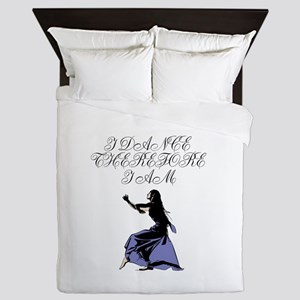I Dance Therfore I Am Queen Duvet