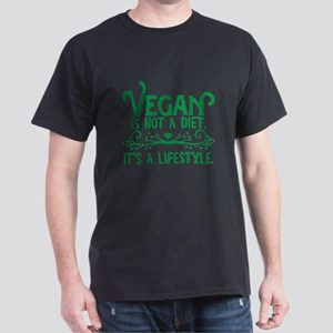 Vegan is Not a Diet Dark T-Shirt