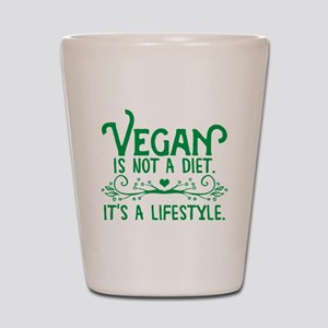 Vegan is Not a Diet Shot Glass