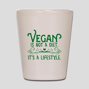 Vegan is Not a Diet Shot Glass