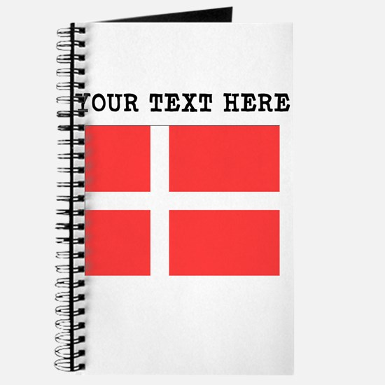 Custom Denmark Flag Journal