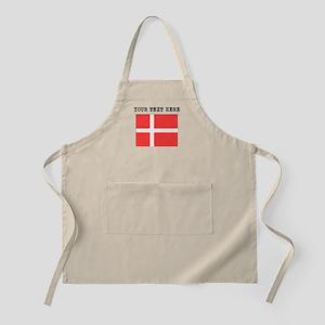 Custom Denmark Flag Apron