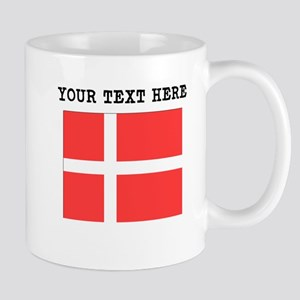 Custom Denmark Flag Mugs