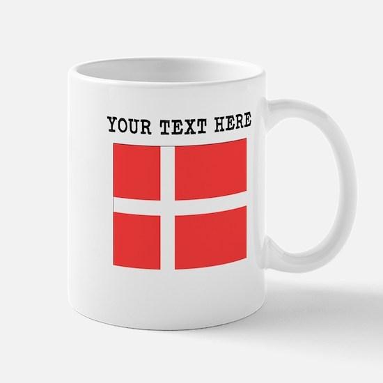 Custom Denmark Flag Mugs
