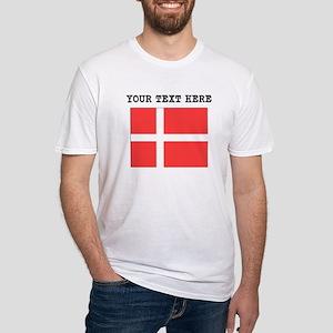 Custom Denmark Flag T-Shirt