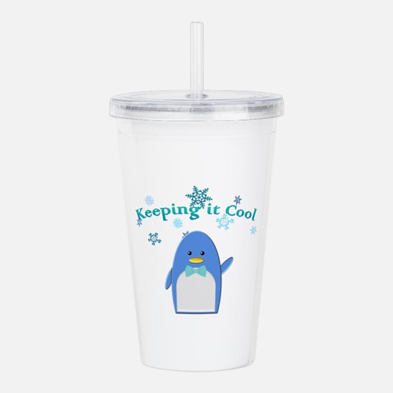 Keeping Cool Acrylic Double-wall Tumbler