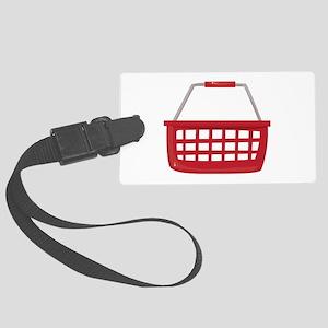 Shopping Basket Luggage Tag