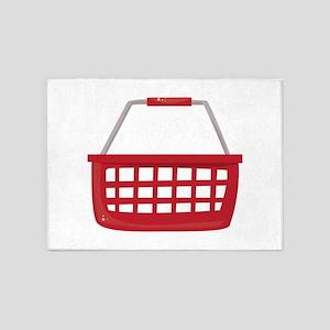 Shopping Basket 5'x7'Area Rug