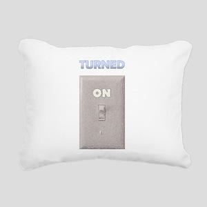 turnon Rectangular Canvas Pillow