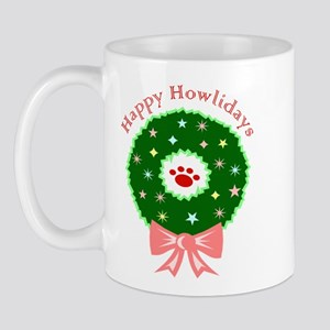 Happy Howlidays Mugs