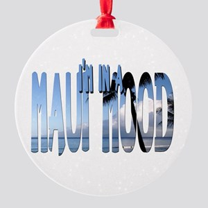 mauimood2 Round Ornament