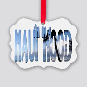 mauimood2 Picture Ornament