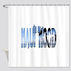 mauimood2 Shower Curtain