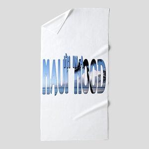 mauimood2.png Beach Towel