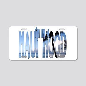 mauimood2 Aluminum License Plate