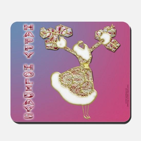 Happy Holidays! Mousepad