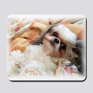BonnyTheShihTzu_Snuggles Mousepad