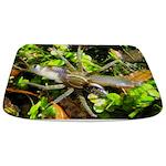 6 Spotted Fishing Spider v Mosquitofish Bathmat