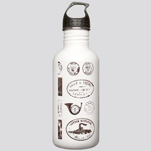 Vintage postage Stainless Water Bottle 1.0L