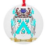 Haycox Round Ornament