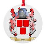 Hay Round Ornament