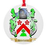 Hawthorne Round Ornament