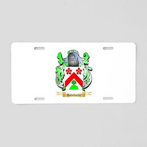 Hawthorne Aluminum License Plate