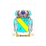 Haworth Sticker (Rectangle 50 pk)