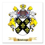 Hawkings Square Car Magnet 3