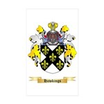 Hawkings Sticker (Rectangle 50 pk)
